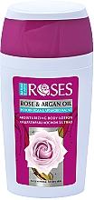 Perfumería y cosmética Loción corporal hidratante con agua de rosas y aceite de argán - Nature of Agiva Roses Body Lotion