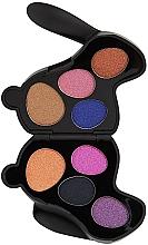 Perfumería y cosmética Paleta de sombras de ojos - I Heart Revolution Bunny Liquorice Palette