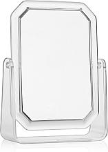 Perfumería y cosmética Espejo cosmético con doble cara, rectangular, 19.5x14.5cm - Titania