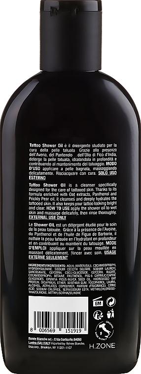 Aceite de ducha con extracto de avena y opuntia - Renee Blanche Essential Tattoo Shower Oil — imagen N2