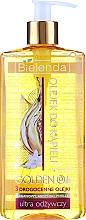 Perfumería y cosmética Aceite de ducha y baño para hidratación intensa con argán y perilla - Bielenda Golden Oils