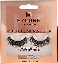Perfumería y cosmética Pestañas postizas con pegamento incluido - Eylure Most Wanted Gimme Gimme