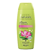 Perfumería y cosmética Champú & acondicionador con aroma a albahaca & flor de loto - Avon Naturals Hair Care Shampoo