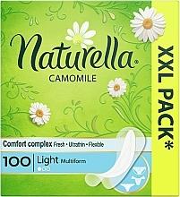 Perfumería y cosmética Salvaslips con camomila, 100 uds. - Naturella Camomile Light