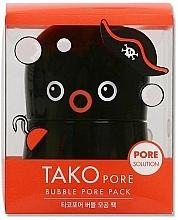 Perfumería y cosmética Mascarilla facial con polvo de carbón y extractos marinos - Tony Moly Tako Pore Bubble Pore Pack