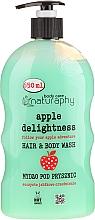 Perfumería y cosmética Champú & Gel de ducha con manzana - Bluxcosmetics Naturaphy