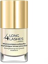 Sérum de uñas intensivo fortificante con aceite de almendras dulces - Long4Lashes Intensive Strenghtening Nail Serum — imagen N2