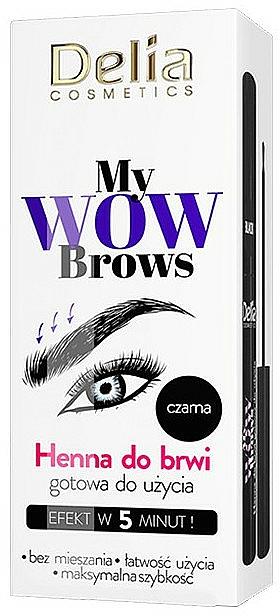 Henna para cejas - Delia My Wow Brows
