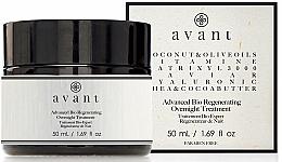 Perfumería y cosmética Crema de noche regeneradora con ácido hialurónico y aceite de coco - Avant Advanced Bio Regenerating Overnight Treatment