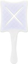 Perfumería y cosmética Cepillo paleta, blanco - Ikoo Paddle X Classic Platinum White