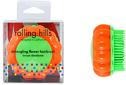 Perfumería y cosmética Cepillo de pelo desenredante, naranja-verde - Rolling Hills Brosse Detangling Flower