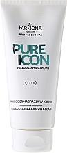 Perfumería y cosmética Crema regeneradora de microdermoabrasión con algas marinas - Farmona Professional Pure Icon Microdermabrasion Cream