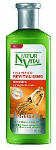 Perfumería y cosmética Champú hipoalergénico revitalizante con extracto de ginseng - Natur Vital Revitalizing Sensitive Ginseng Shampoo