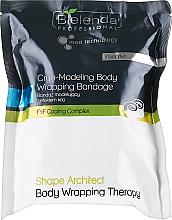 Perfumería y cosmética Vendajes de remodelación corporal - Bielenda Professional Shape Architect Cryo-Modeling Wrapping Bandage