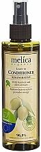 Perfumería y cosmética Acondicionador regenerador orgánico con extracto de bardana, sin aclarado - Melica Organic Leave-in Regenerative Conditioner