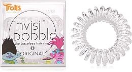 Perfumería y cosmética Coletero espiral - Invisibobble Troll Sparkling Clear