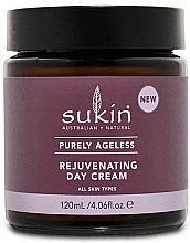 Perfumería y cosmética Crema de día rejuvenecedora con manteca de cacao y aceite de argán - Sukin Purely Ageless Rejuvenating Day Cream