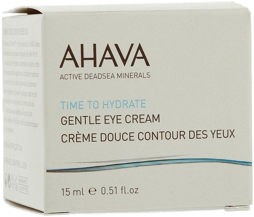 Crema hidratante para contorno de ojos con extracto de centella asiática - Ahava Time To Hydrate Gentle Eye — imagen N3