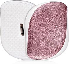 Perfumería y cosmética Cepillo desenredante de pelo compacto - Tangle Teezer Compact Styler Glitter Rose