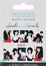 Perfumería y cosmética Pegatinas decorativas para uñas, 3687, BN-261 - Neess