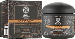 Perfumería y cosmética Envoltura orgánica corporal cálida rejuvenecedora de espino amarillo silvestre - Natura Siberica Sauna&Spa
