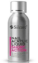 Perfumería y cosmética Líquido acrílico para uñas, acción corta - Silcare Nail Acrylic Liquid Comfort Shot Action