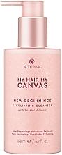 Perfumería y cosmética Limpiador exfoliante de cuero cabelludo con extracto de caviar botánico - Alterna My Hair My Canvas New Beginnings Exfoliating Cleanser