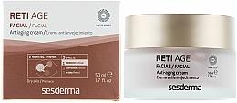 Perfumería y cosmética Crema facial antiedad con retinol y glicerina - SesDerma Laboratories Reti Age Facial Antiaging Cream 3-Retinol System