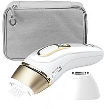 Perfumería y cosmética Depiladora de luz pulsada, color blanco - Braun Silk-Expert Pro 5 PL 5117 IPL