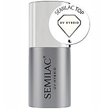 Perfumería y cosmética Esmalte para capa superior uñas de gel - Semilac UV Hybrid
