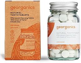 Perfumería y cosmética Pasta dental en tabletas con aceite de naranja - Georganics Natural Toothtablets Orange