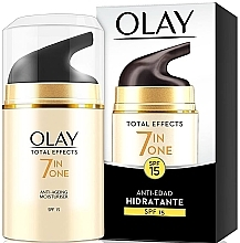 Perfumería y cosmética Crema hidratante antiedad - Olay Total Effects Anti-Aging Hidratante SPF15