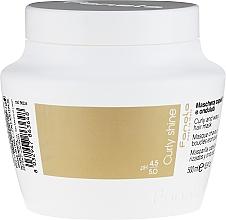 Perfumería y cosmética Mascarilla desenredante para cabello rizado con proteínas de seda - Fanola Curly and Wavy Hair Mask