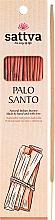 Perfumería y cosmética Varitas de incienso con aroma a palo santo - Sattva Palo Santo