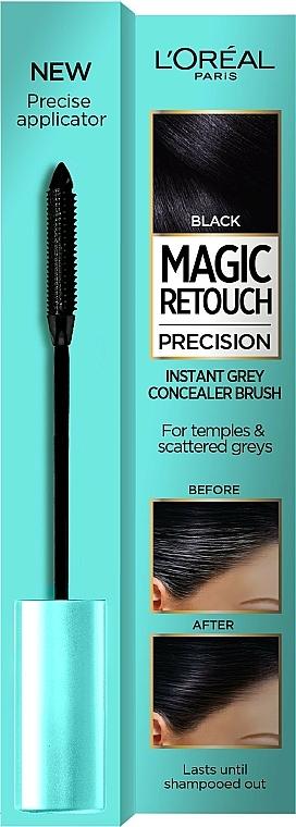 Cepillo instantáneo retoca raíces - L'Oreal Magic Retouch Precision Instant Grey Concealer Brush