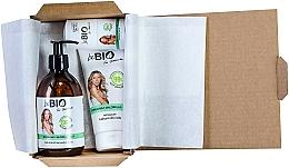 Perfumería y cosmética Set corporal - BeBio Spirulina & Chlorella Algae Set (gel de ducha/400ml + loción corporal/200ml + deo roll-on/50ml)