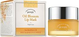 Perfumería y cosmética Mascarilla de labios de noche con vitamina E y aceite de espino amarillo - Petitfee&Koelf Oil Blossom Lip Mask
