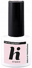 Perfumería y cosmética Top coat gel, efecto matificante - Hi Hybrid Top No Wipe Matt