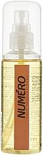Perfumería y cosmética Tratamiento para cabello con aceite de macadamia y argán - Brelil Professional Numero Illuminating Crystals With Precious Oils