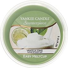 Perfumería y cosmética Cera perfumada con aroma a vainilla y lima - Yankee Candle Vanilla Lime Melt Cup