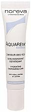 Perfumería y cosmética Crema hidratante antiarrugas para contorno de ojos con extracto de árbol de seda - Noreva Aquareva Moisturizing Eye Care