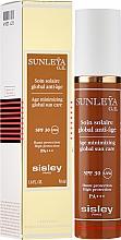 Perfumería y cosmética Crema facial de protección solar antienvejecimiento con extracto de trigo y vitamina E - Sisley Sunleya G.E. SPF 30