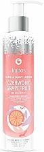 Perfumería y cosmética Loción para manos y cuerpo con pomelo rojo - Kabos Red Grapefruit Hand & Body Lotion