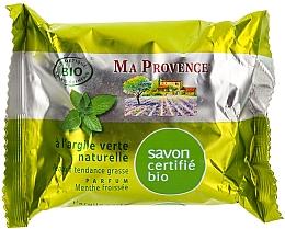Perfumería y cosmética Jabón orgánico para pieles grasas con arcilla verde natural - Ma Provence Nature Soap