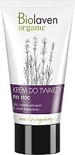 Perfumería y cosmética Crema de noche con aceites de lavanda, aguacate & de semilla de uva - Biolaven Night Face Cream