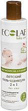 Perfumería y cosmética Champú gel de ducha 2en1 antilágrimas con extracto orgánico de centaurea & tila - ECO Laboratorie Baby Gel-Shampoo 2 in 1