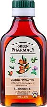 Perfumería y cosmética Aceite con argán y extracto de bardana - Green Pharmacy