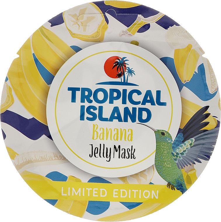 Mascarilla facial aclarante con extracto de flor de plátano - Marion Tropical Island Banana Jelly Mask