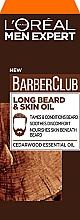 Perfumería y cosmética Aceite para rostro y barba con aceites esenciales - L'Oreal Paris Men Expert Barber Club Long Beard + Skin Oil