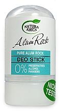 Perfumería y cosmética Desodorante en stick sin alcohol ni parabenos - Natura Amica Deodorant Pure Alum Rock